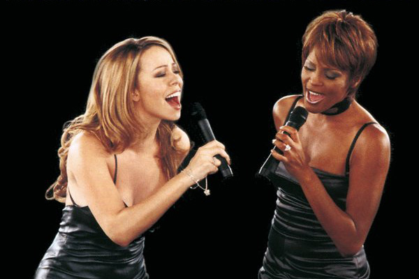 Mariah Carey Whitney Houston Mejores duetos