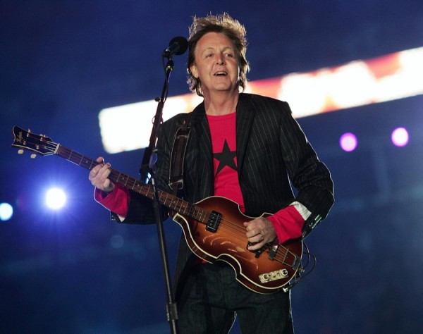 Paul McCartney Superbowl